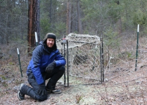 Deer trap in the study site