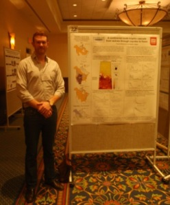 Poster presentation at the Gordon Research Conference on Predator-Prey Interactions. Poster title: a continental scale trophic cascade from wolves through coyotes to foxes